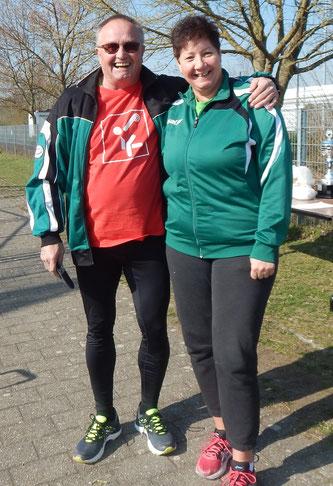 Dann hätten wir hier noch zwei weitere Nachwuchsleute: Roland Klingler und Stephanie Lück!