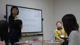 講師の八木さんが、このワークショップの意図やルールを説明