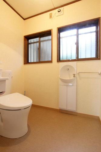 洋式トイレへ(施工完了)