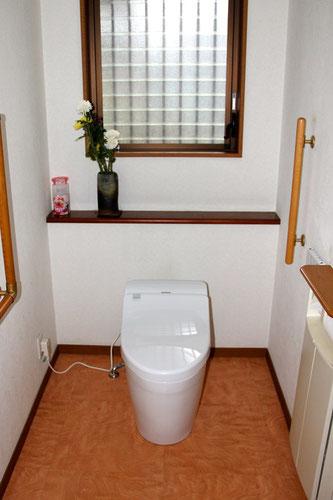 タンクレストイレ(施工後)