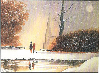 Winter in Stäbelow