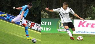"""Markus """"Gego"""" Pfister und Nico Gebhard"""