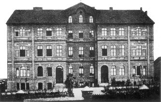 dudweiler, saarbruecken, saarland, krankenhaus, kloster, schwestern vom heiligen geist, 1899