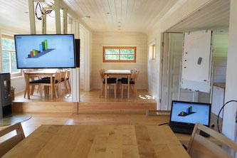 Konferenzwagen, Baumhaushotel Solling