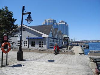 Boardwalk mit Purdy-Türmen