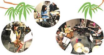 子供のドラム教室 セッション