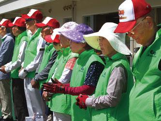 ▲本大会を主催した「グラウンド・ゴルフ愛好者の会」