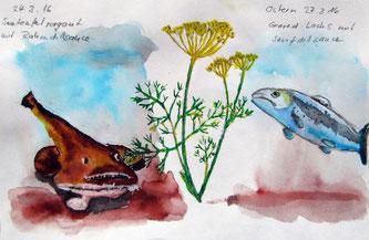 Fische mit Dillsaucen 24._27.3.2016