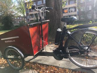 Bakfiets.nl Cargo Trike met Pendix eDrive ombouwset van Fiets Ombouwcentrum Nederland