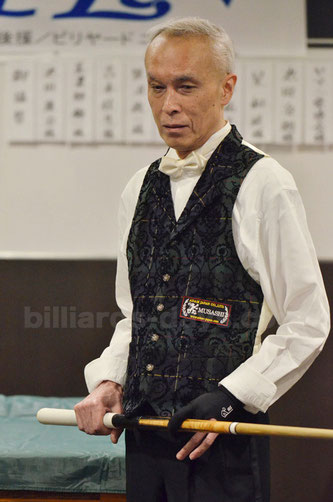 Runner-up Masamitsu Mano
