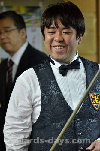 4th :  Tokuyuki Tanabe 暫定4位:田名部徳之