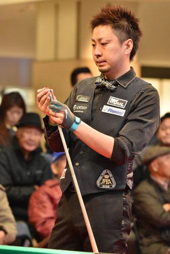Naoyuki Oi becomes MVP of 2015 JPBA ranking race.