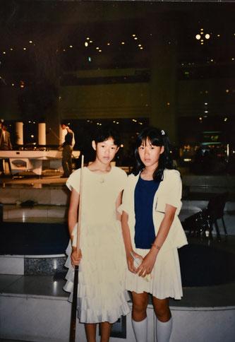 サンシャインでエキシビションをした時のもの。右は姉