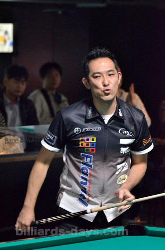 Yuji Hayase won 2015 JPBA Grand Prix East stop #7