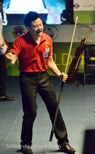 September 2015 Ko Pin Yi at World Pool Championship
