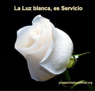 EL SILENCIO INTERIOR - La Luz blanca es el Ideal, es Servicio - PROSPERIDAD UNIVERSAL
