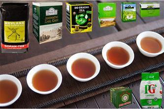 Schwarzen & Grünner Tee