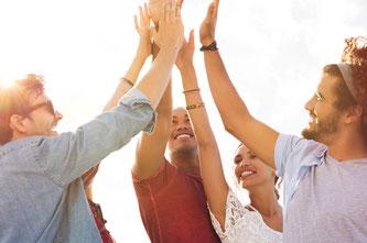 Teamentwicklung, Teambuilding, Zusammenarbeit, Kooperation