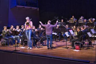 Neujahrskonzert 2019 der Brass Band WBI