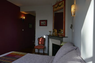Chambre du Parc - Manoir de Chaussoy - Somme (80) - Picardie