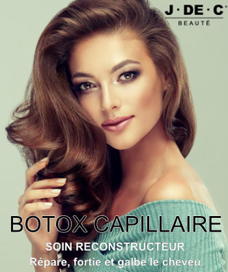 Soin Botox Cheveux, Botox Capillaire, Réparation Cheveux abîmés, J.DE.C Coiffure Marseille
