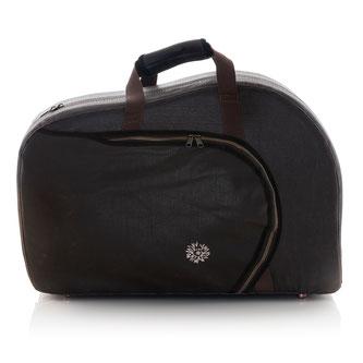 brauner Vintage Koffer für schraubbares Waldhorn