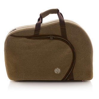 country-style French horn case in linen look