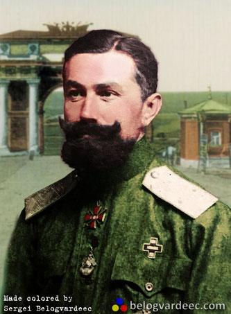 Михаил Георгиевич Хрипунов командир Л-Гв. Казачьего полка.