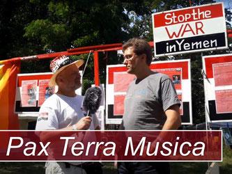 Stop the WAR in Yemen zu Gast bei den Friedensfestivals von Pax Terra Musica