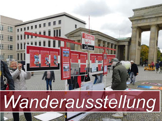 Stop the WAR in Yemen - Mobile Wanderausstellung