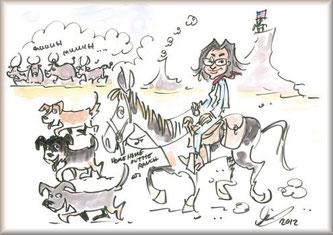 """""""Wir"""" - Karikatur (Dezember 2012)"""