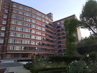 Image représentant la façade de la COCOF située 42, Rue des Palais à 1030 Bruxelles