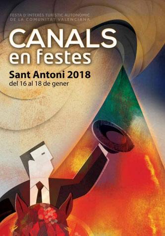 Fiestas de San Antoni en Canals