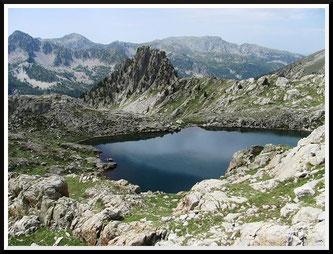 Lacs de Bresse, lacs Nègre et Graveirette (Mercantour)