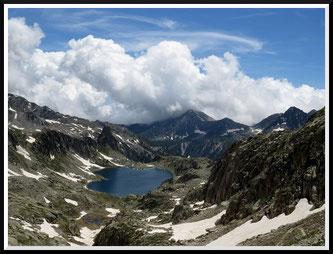 Lacs Nègre et Graveirette (Mercantour)