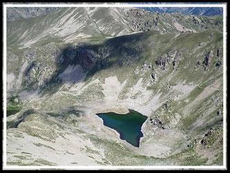 Mont Pépoiri et lacs de Millefonts