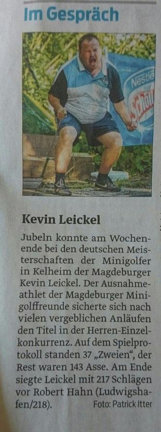 Deutsche Meisterschaften in Kelheim Saison 2015