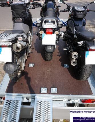 Eduard 3118 mit BMW Motorrädern