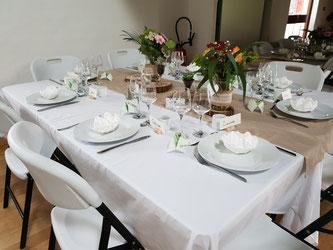 Le Buffet d'Hervé - Service traiteur en Loir-et-Cher, Région Centre-Val de Loire - Mariages, baptêmes, anniversaire, fêtes, toutes réceptions...