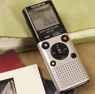 Capter des voix paranormales avec un enregistreur vocal numérique