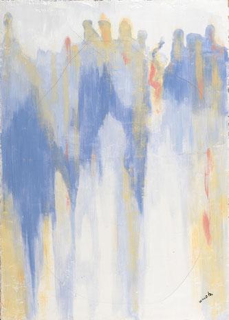 Quadro arte contemporanea - olio su tela  - Artisti italiani