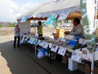 菜の花関連商品やアスパラなども販売中!