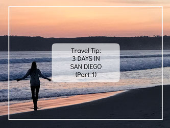 Travel Tip 3 Days in San Diego Part 1