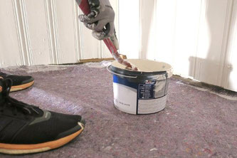 Abdeckung bei Malerarbeiten