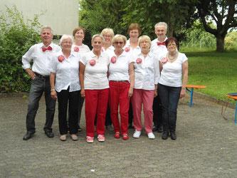 Auftritt beim Senioren-Sommerfest 2016.  (Foto: C.Schneider)