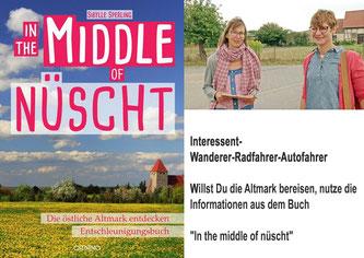 Buch IN THE MIDDLE OF NÜSCHT, östliche Altmark