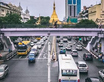 Transportmittel Myanmar