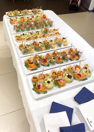 Verwöhnt wurden die Gäste vom Catering Service Eggenstein aus  Südkirchen. Foto: ms-smash