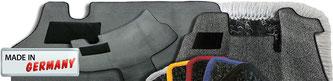 MERTEX - Autofußmatten/ Fahrerhausteppiche, Citroen, Fiat Ducato, Ford Transit, Iveco Daily, Mercedes Sprinter, Opel, Peugeot, Renault, VW