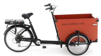 Babboe Big-E Lasten e-Bike, Lastenfahrrad mit Elektromotor, e-Cargobike 2017